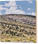 Arizona Hills Wood Print