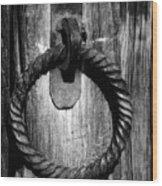 Arizona Ironwork Wood Print