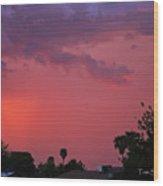 Arizona Haboob  Wood Print