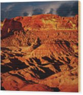 Arizona Mesa 5 Wood Print