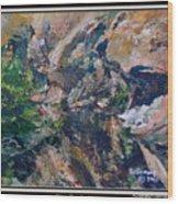 Arizona River Mountains Wood Print