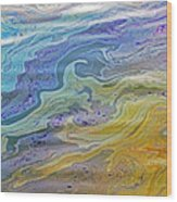 Arizona Oil Slick 2 Wood Print