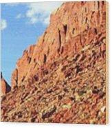 Arizona Sandstone Wood Print