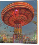 Arizona State Fair Wood Print