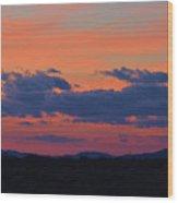 Arizona Sunset 10 Wood Print