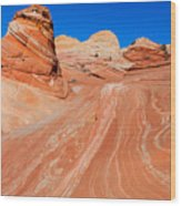Arizona-utah- North Coyote Buttesthe Wave Wood Print