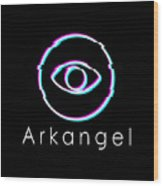 Arkangel Wood Print