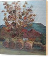 Arkansas Autumn Wood Print