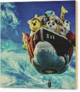 Arky  Noah's Ark Wood Print