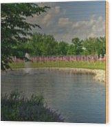 Arlington Memorial Gardens Wood Print