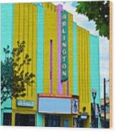 Arlington Theatre Wood Print