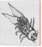 Arm Fish Wood Print