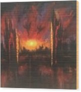 Armageddon Wood Print