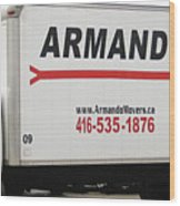 Armando Movers Wood Print