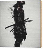 Armored Samurai Wood Print