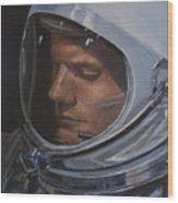 Armstrong- Gemini Viii Wood Print