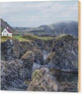 Arnastapi - Iceland Wood Print