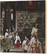 Arnosa Choirboys Wood Print
