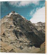 Around Holy Kailas Himalayas Tibet Yantra.lv Wood Print