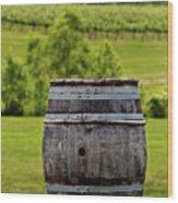 Around The Vineyard Wood Print