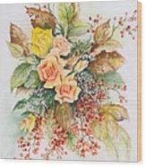 Arrangement In Yellow Wood Print