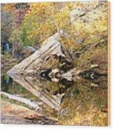 Arrow Rock Wood Print