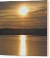 Arrowhead Lake Sunrise Wood Print