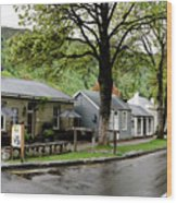 Arrowtown, New Zealand Wood Print