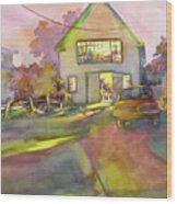 Art Barn, Port Clyde Wood Print