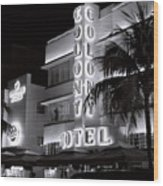 Art Deco Miami Beach Wood Print