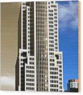 Art Deco Nbc Tower Wood Print