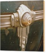 Art Deco Olds Trim Wood Print