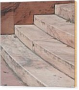 Art Deco Steps Wood Print