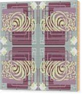Art Deco Wood Print