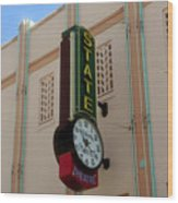 Art Deco Theatre Wood Print