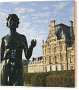 Art Des Tuileries Wood Print