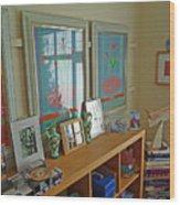 Art Gallery Wood Print