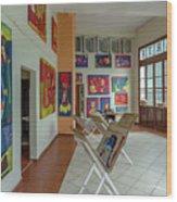 Art Gallery In Havana Wood Print