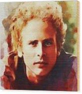 Art Garfunkel, Music Legend Wood Print