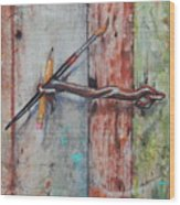 Art Hook Wood Print