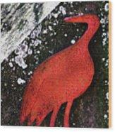 Art In Centennial Park Wood Print