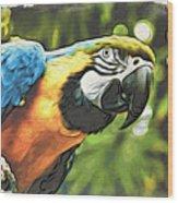Art In Moku Hanga Style Wood Print