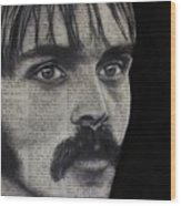 Art In The News 95-steve Prefontaine Wood Print