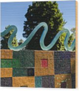 Art In The Park - Louis Armstrong Park - New Orleans Wood Print