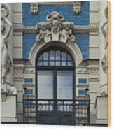 Art Nouveau In Riga Wood Print