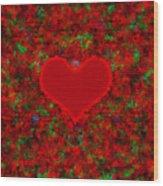 Art Of The Heart 2 Wood Print