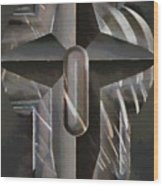 Art Of The Holy Cross Wood Print
