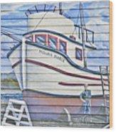 Art On The Bayfront 2 Wood Print