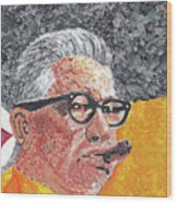 Art Rooney Wood Print by William Bowers