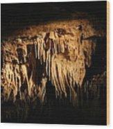 Art Underneath - Cave Wood Print